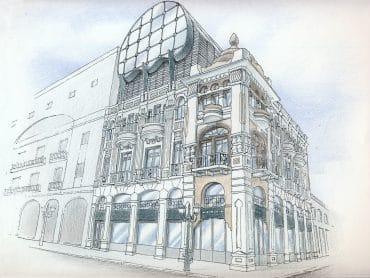 Preserved building, 28 Ι.Dragoumi